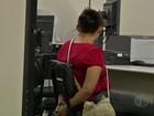 Polícia apreende companheiro de mãe suspeita de maus-tratos