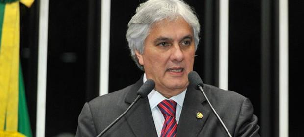 Delcídio do Amaral é preso pela PF (Foto: Waldemir Barreto/Agência Senado)