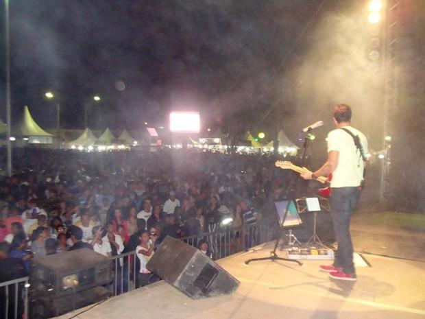 show na Ferarp (Foto: Michelly Oda/G1)