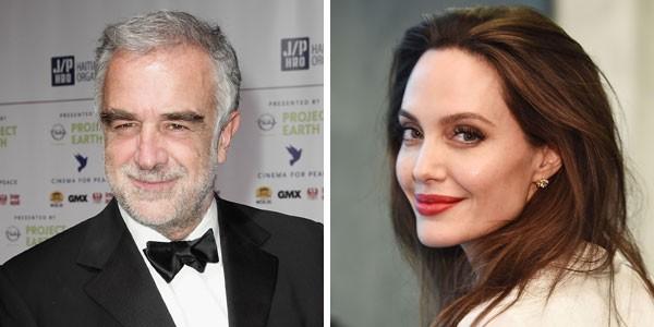 Luis Moreno Ocampo e Angelina Jolie (Foto: Getty Images)