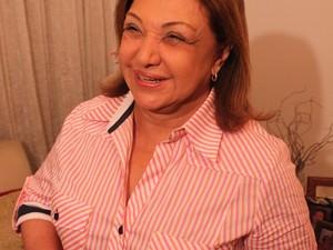 Telma de Souza fica em segundo lugar nas eleições em Santos (Foto: Lincoln Chaves / Globoesporte.com)