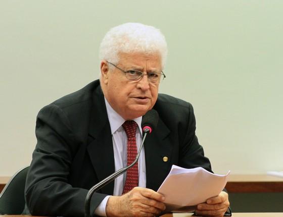 O deputado federal Nelson Meurer (PP/PR) (Foto: Laycer Tomaz/ Câmara dos Deputados)