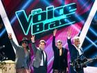 FOTOS: Veja como foi a estreia da segunda temporada do The Voice Brasil