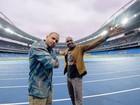 Projota e Thiaguinho interpretam música tema da Olimpíada Rio 2016