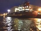 Navio africano impedido de atracar no Porto de Santos, SP, é liberado