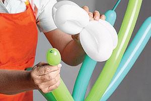 Arranjo floral de balões 10 (Foto: Crescer)