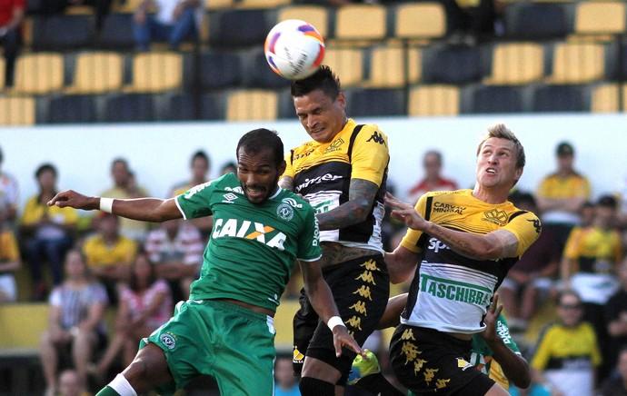 chapecoense X Criciúma  (Foto: Fernando Ribeiro / Estadão Contéudo)