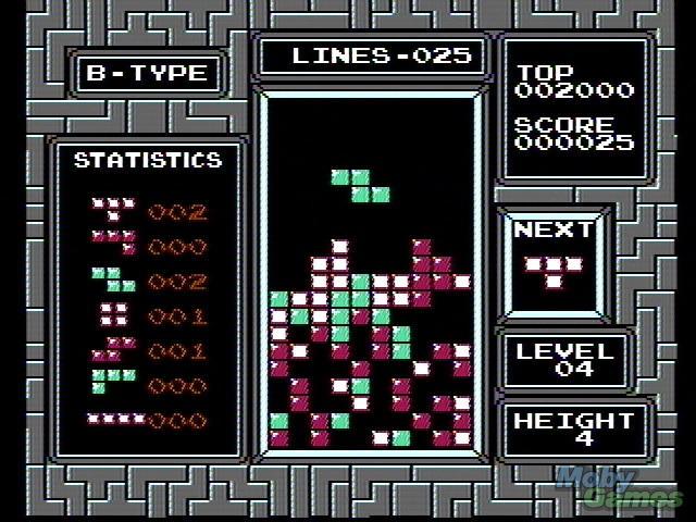 Tetris no NES (Foto: Divulgao)