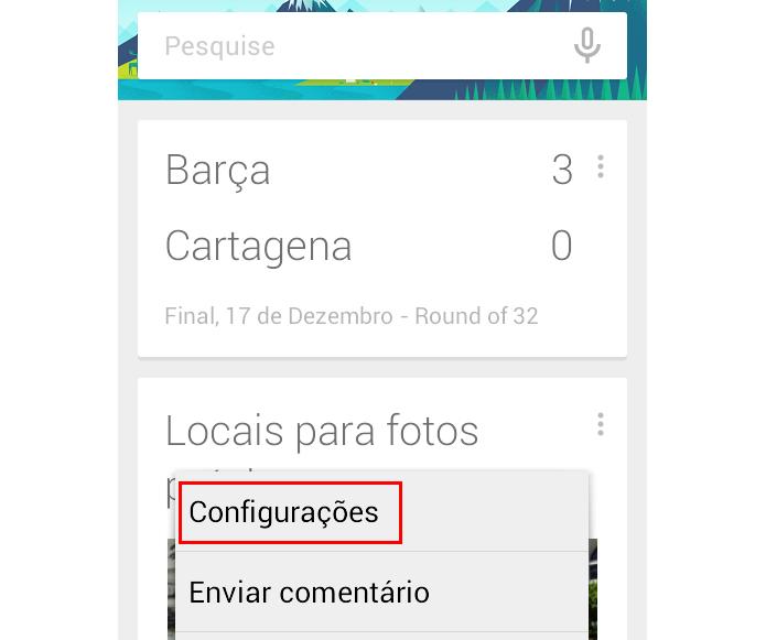 Abra as configurações do Now (Foto: Reprodução/Paulo Alves) (Foto: Abra as configurações do Now (Foto: Reprodução/Paulo Alves))