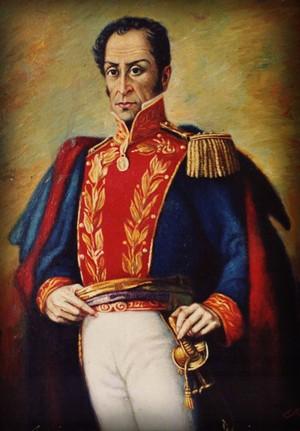 Simón Bolívar, líder da independência  (Foto: Reprodução)