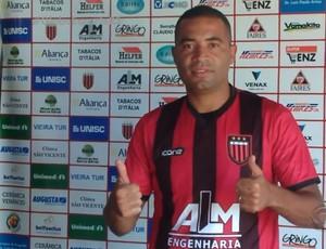 Guarani-VA apresenta Wellington Monteiro