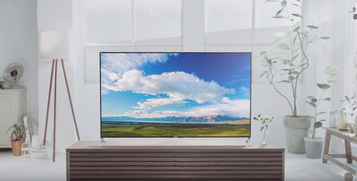 Sony lança no Brasil TV com qualidade 4K e design super fino (Foto: Divulgação/Sony)