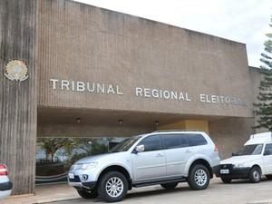 Fachada Tribunal Regional Eleitoral TRE MS (Foto: Fernando da Mata/G1 MS)