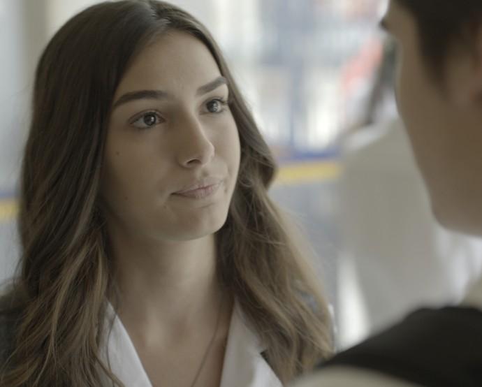 Luciana não quer mais saber de Rodrigo (Foto: TV Globo)