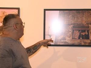 Vicente Jr. reuniu imagens que questionam falta de conservação (Foto: Reprodução / TV Mirante)