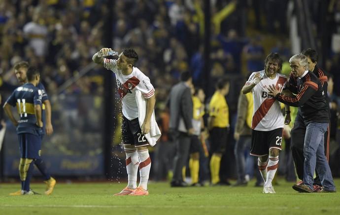 pimenta, Boca Juniors x River Plate (Foto: AFP)