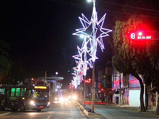 Barreiras não terá iluminação de natal na ruas esse ano (Foto: Divulgação)