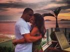 Ronaldo recebe elogio virtual da noiva: 'Malvado favorito'