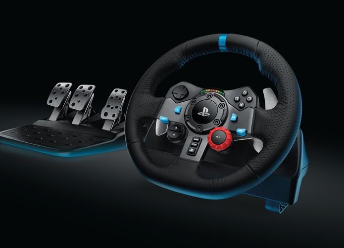 Jogadores das plataformas da Sony terão acesso ao G29 (Foto: Divulgação/Logitech)