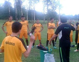 Náuas inicia treinos no CT da Praia Grande, em Cruzeiro do Sul (Foto: Divulgação/Náuas)