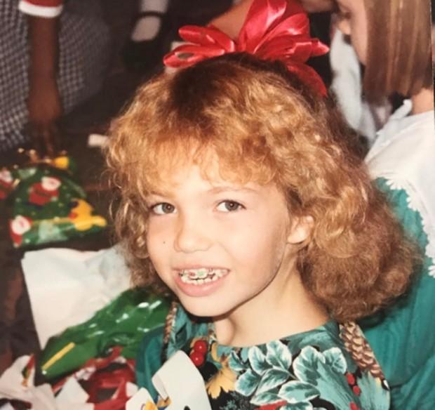 Mandy Moore aos 10 anos (Foto: Reprodução/Instagram)
