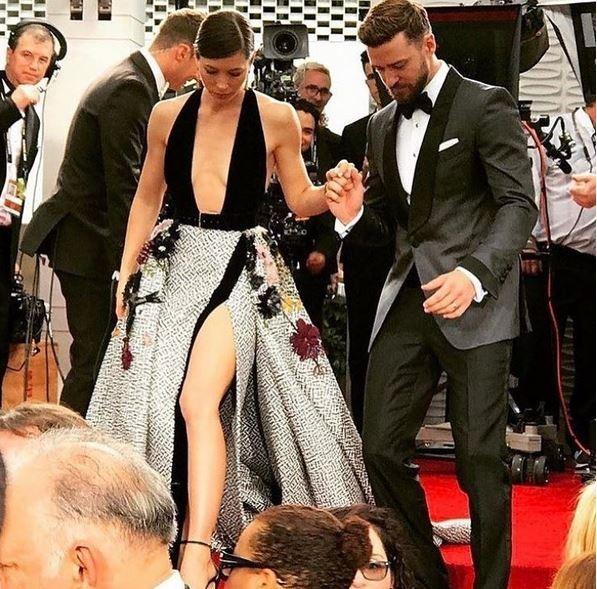 Jessica Biel e Justin Timberlake (Foto: Reprodução)