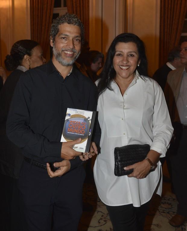 O casal Regina Casé e Estevão Ciavatta (Foto: Fabio Cordeiro/QUEM)