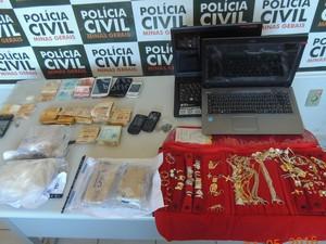 Operação Dominó em Ibiá (Foto: Polícia Civil de MG/Divulgação)