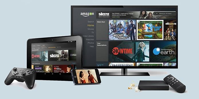 Serviço pode ser acessado em muitas plataformas, com download no iPhone e Android (Foto: Divulgação/Amazon)