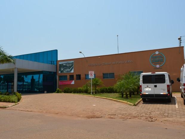 Hospital do Câncer em Porto Velho (Foto: Toni Francis/G1)