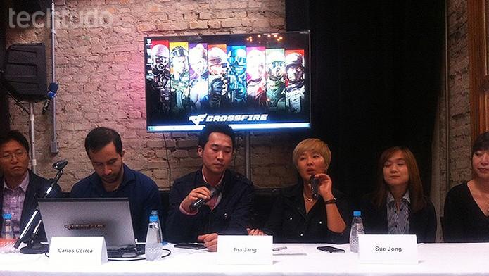 Jang também falou sobre uma maior inclusão de Crossfire em campeonatos de e-sports (Foto: Monique Alves/TechTudo)