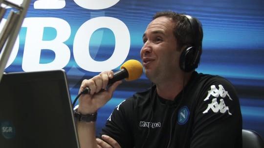 Caio Ribeiro mostra bastidores de transmissões no rádio e na TV
