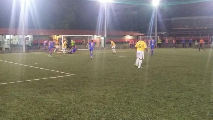 Sport e Camaleão duelaram pela 10ª rodada do Campeonato Pernambucano de Futebol 7 (Foto: Divulgação / Federação Society PE)