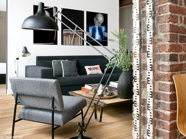 Um loft de nova york em paris casa vogue interiores for Decoration porte new york