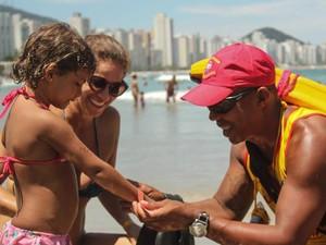 Bombeiros deverão reforçar segurança dos banhistas nas praias do litoral norte de São Paulo (Foto: Divulgação/ CBMAR)