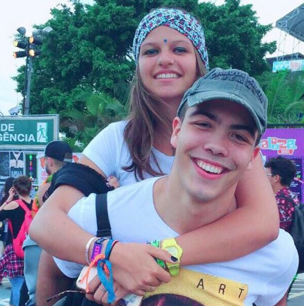 Ronald e a namorada, Ines Paillard (Foto: Reprodução/Instagram)