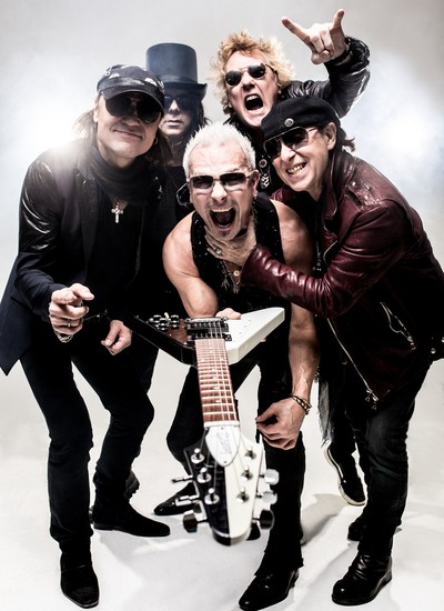 O Scorpions tem mais de 100 milhões de álbuns vendidos no mundo todo (Foto: Divulgação)