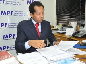 MPF-MS investiga 30 pessoas por arrendamento de terras da União (Foto: Fabiano Arruda/G1 MS)