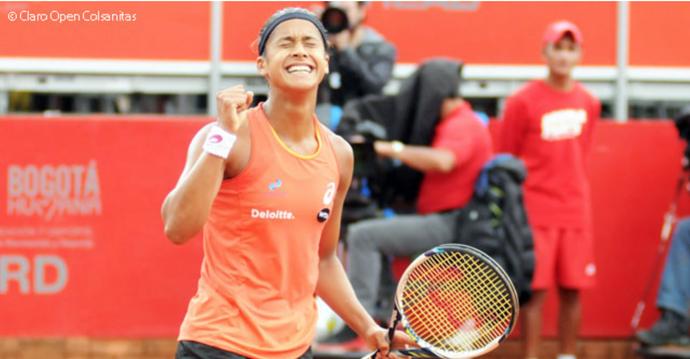 Teliana Pereira campeã WTA Bogotá (Foto: Divulgação)