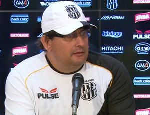 Guto Ferreira, técnico da Ponte Preta (Foto: Carlos Velardi / EPTV)