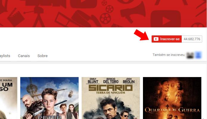 Inscreva-se no YouTube Movies (Foto: Reprodução/Paulo Alves)