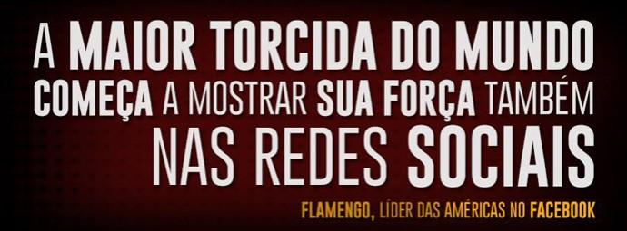imagem Flamengo Facebook (Foto: Reprodução)