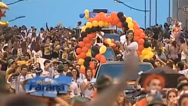 Festa do chope escuro é uma tradição consolidada na região dos Campos Gerais (Foto: Reprodução)