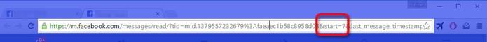 Encontrando o trecho exato na URL (Foto: Felipe Alencar/TechTudo) (Foto: Encontrando o trecho exato na URL (Foto: Felipe Alencar/TechTudo))