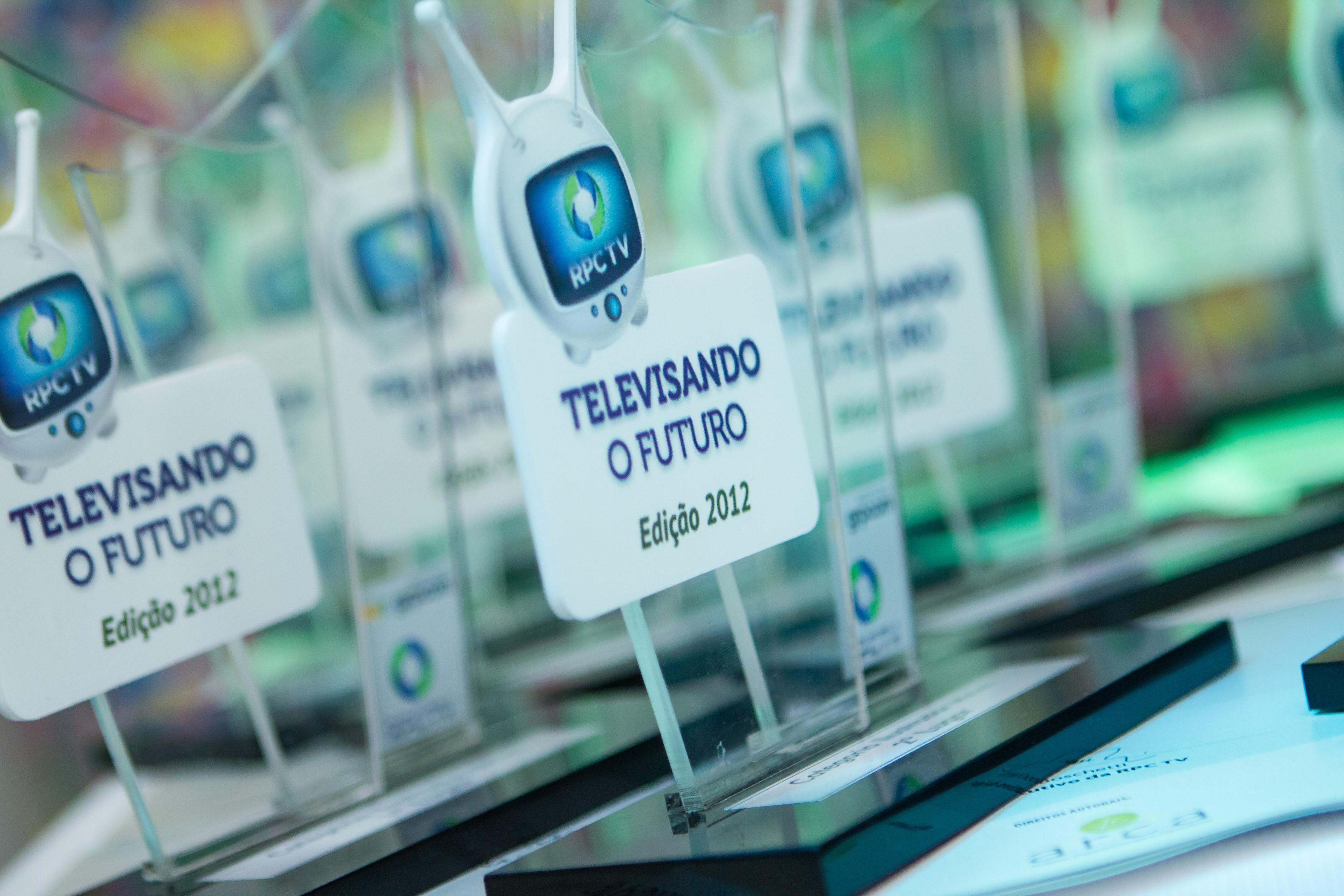 Concurso Cultural do Televisando o Futuro: Premiação dos trabalhos da Regional Paranavaí (Foto: Luciano Meireles / RPC TV)
