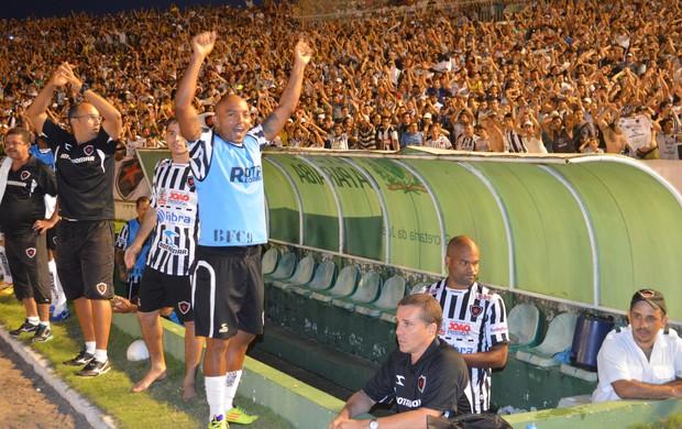 Botafogo-PB, Série D, João Pessoa, Paraíba, Almeidão (Foto: Larissa Keren / Globoesporte.com/pb)
