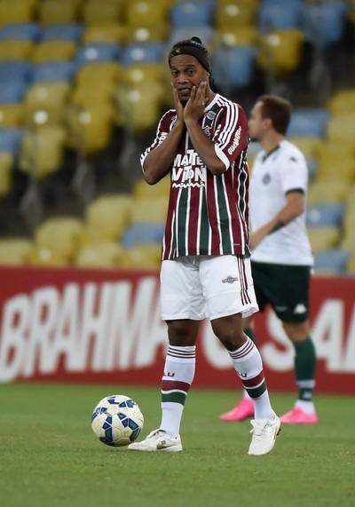 Ronaldinho Gaúcho Fluminense x Goiás (Foto: André Durão)