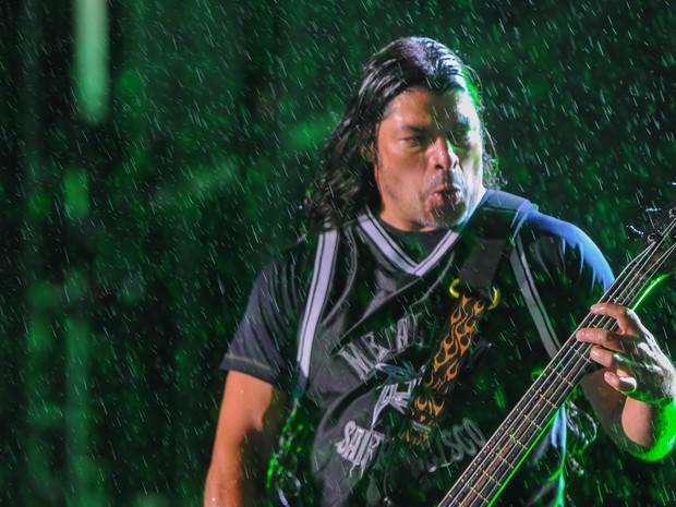 """As músicas mais escolhidas pelo público foram """"Master of puppets"""", """"One"""" e """"Enter sandman"""". (Foto: Flavio Moraes/G1)"""
