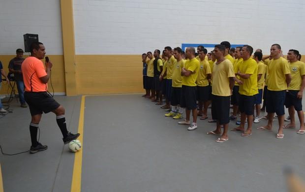 Penitenciária de Vilhena realiza jogos (Foto: Jonatas Boni)