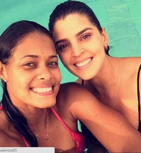 Mari Paraíba Adenízia vôlei Sul-Americano (Foto: Reprodução / Instagram)